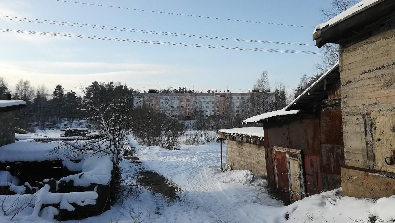 Ненимяки зимой - вид на дом 115