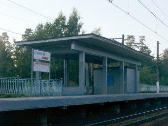 Железнодорожная станция Лемболово