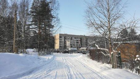 116-й дом в посёлке Ненимяки зимой